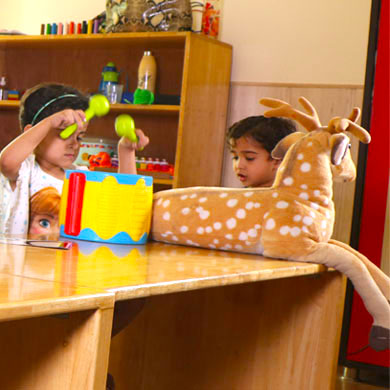 Experiential Learning at play school in Gurgaon