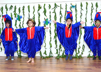 Kids Performance at Annual Day at Building Kidz School in Gurgaon