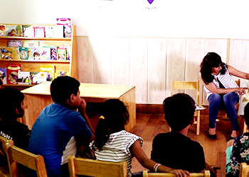 Kids Library at Building Kidz Gurgaon