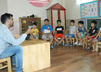 Music Room at Building Kidz School at Gurgaon